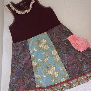 Matilda Jane Tank Dress 10 Like New